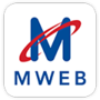 mweb.co.za logo!