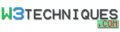 w3techniques.com logo!
