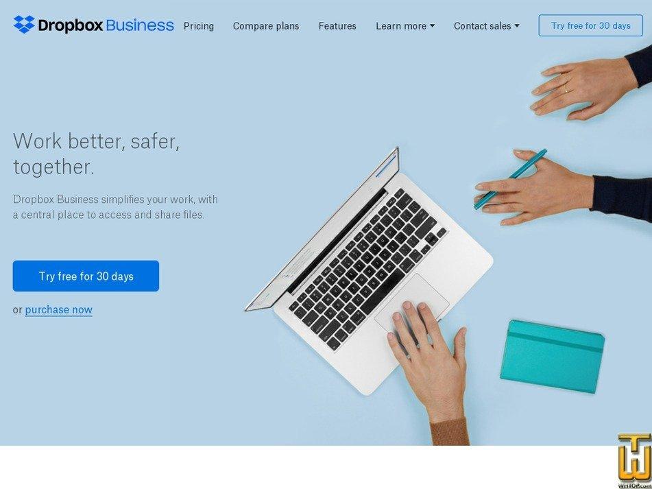 Screenshot of Standard from dropbox.com