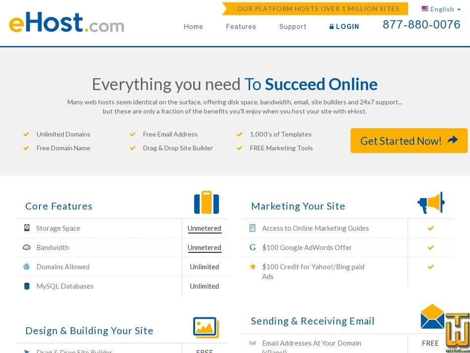 Screenshot of Esential from ehost.com
