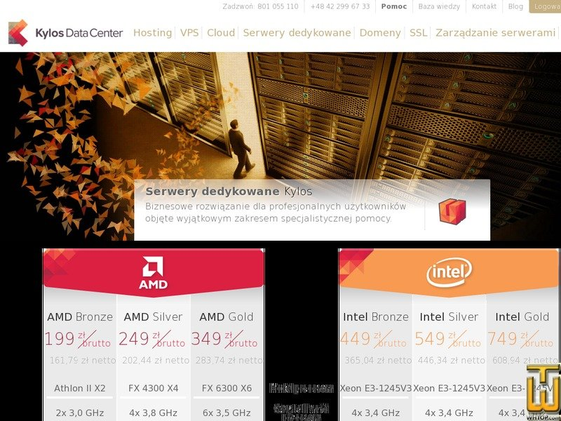 Screenshot of AMD BRONZE from kylos.pl