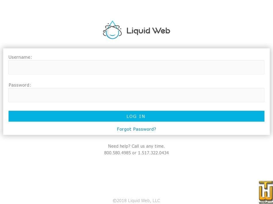 Screenshot of 4 GB from liquidweb.com