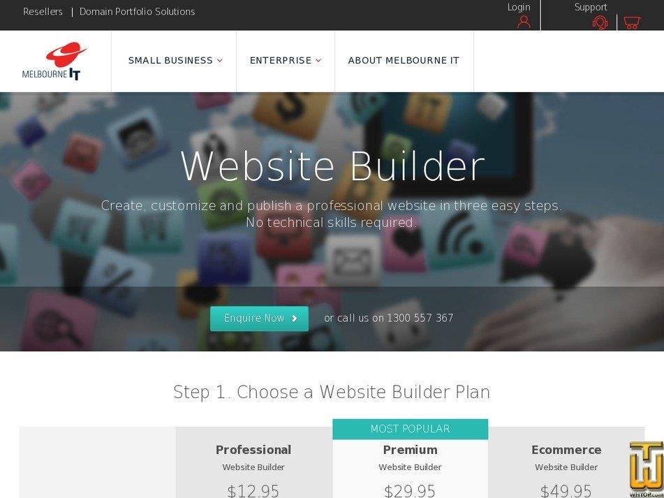 Screenshot of Premium from melbourneit.com.au