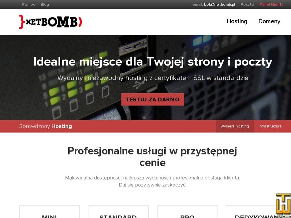 Screenshot of STANDARD from netbomb.pl