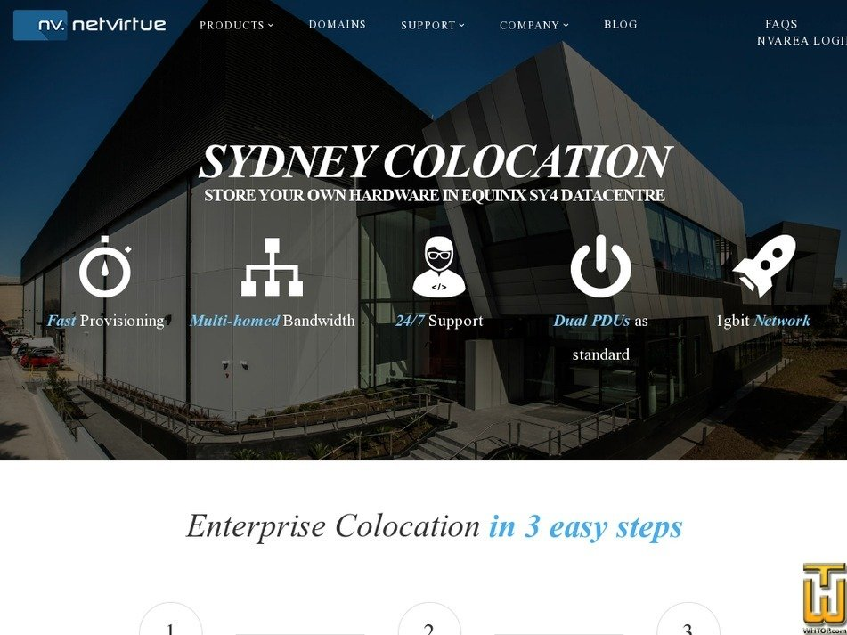 Screenshot of 10 RU Sydney from netvirtue.com.au