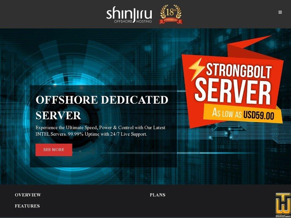 Screenshot of XEON QUAD CORE E3X - 4 CORES (16GB) from shinjiru.com