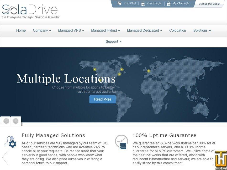 Screenshot of Intel E5-2660v4 from soladrive.com