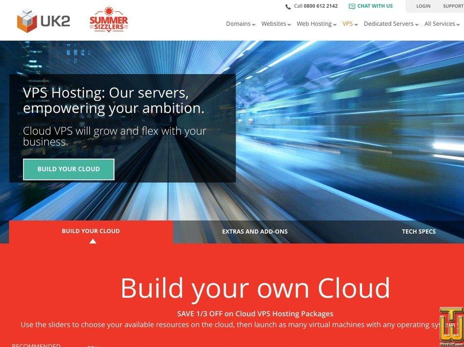 Screenshot of UKV100 from uk2.net