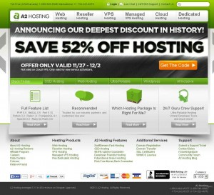 A2hosting.com Black Friday 2013