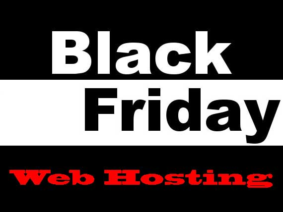 Black Friday Web Hosting Logo