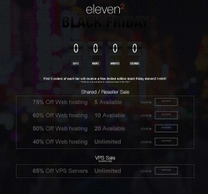 Eleven2.com Black Friday 2013
