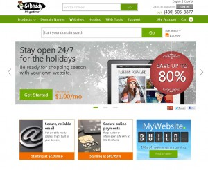 Godaddy.com Black Friday 2013