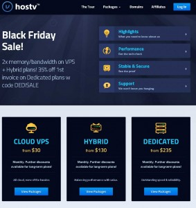 Hostv.com Black Friday 2013