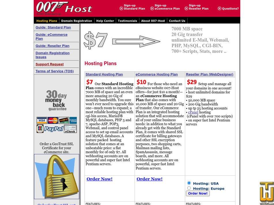 007-host.com Screenshot