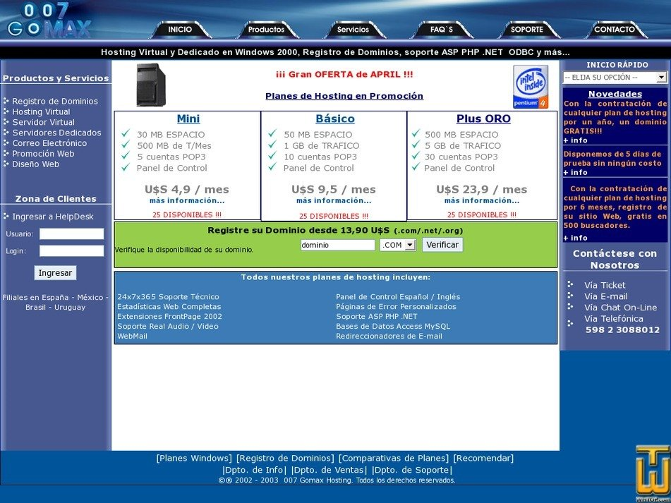007gomax.com Screenshot