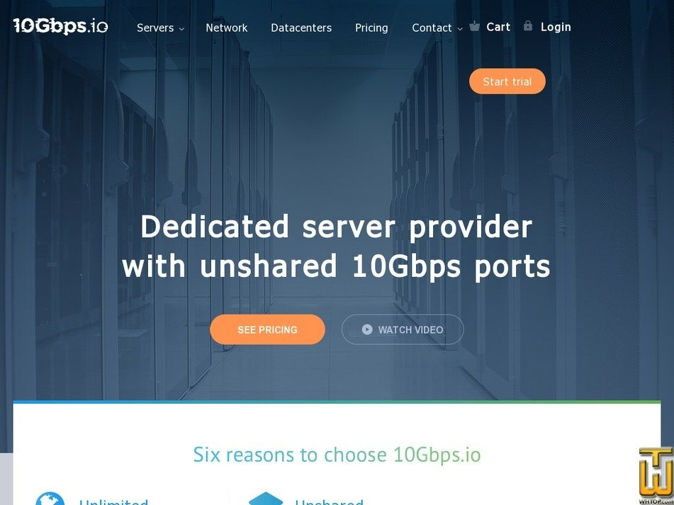 10gbps.io Screenshot