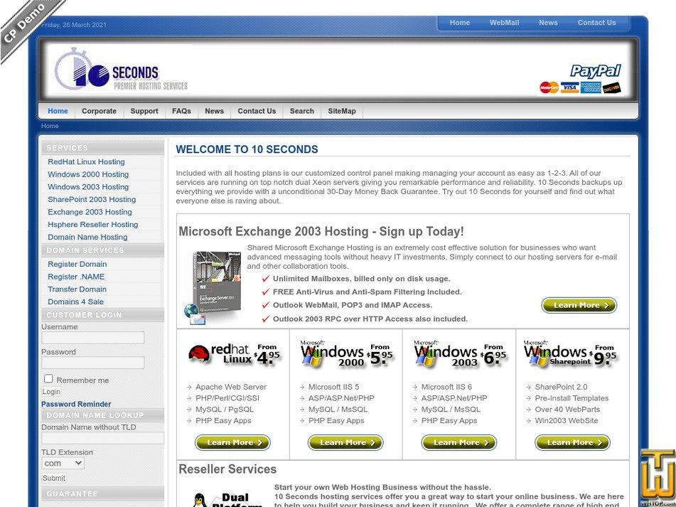 10sec.com Screenshot