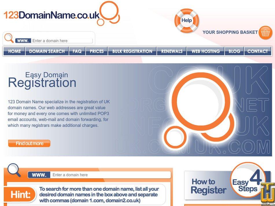 123domainname.co.uk Screenshot