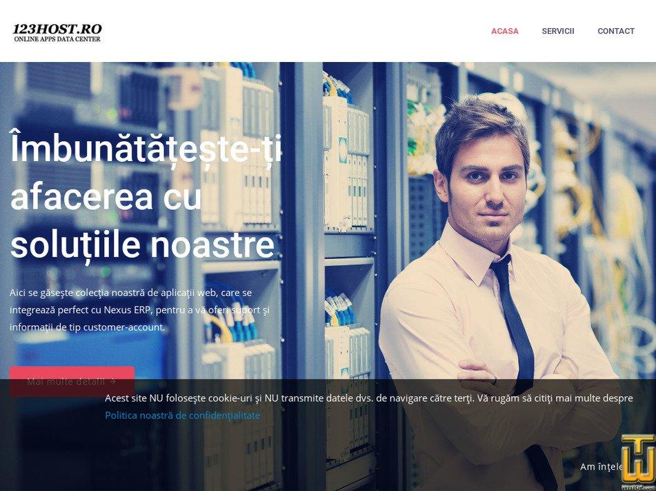 123host.ro Screenshot