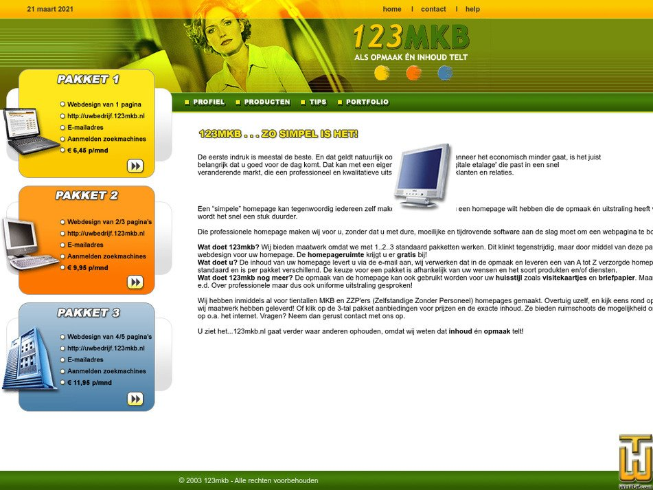 123mkb.nl Screenshot