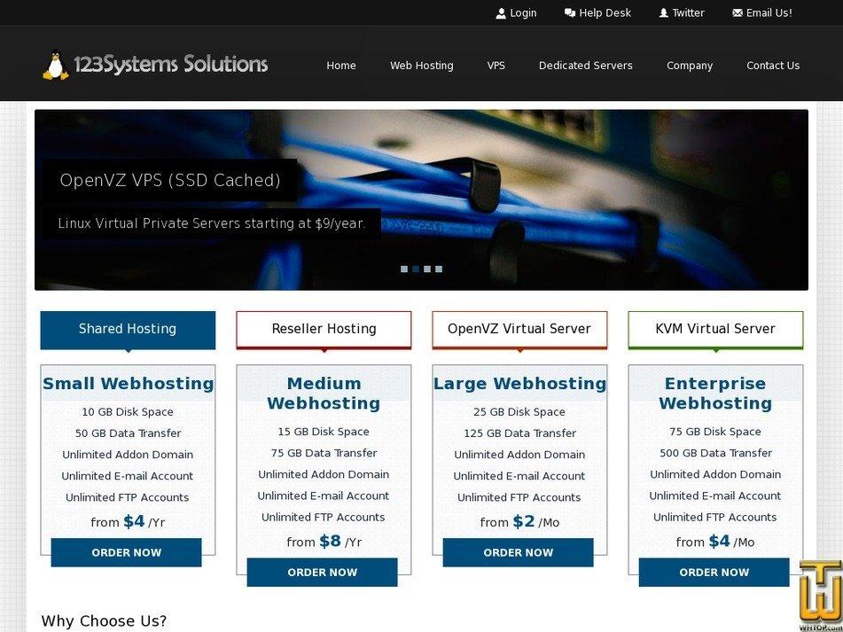 123systems.net Screenshot