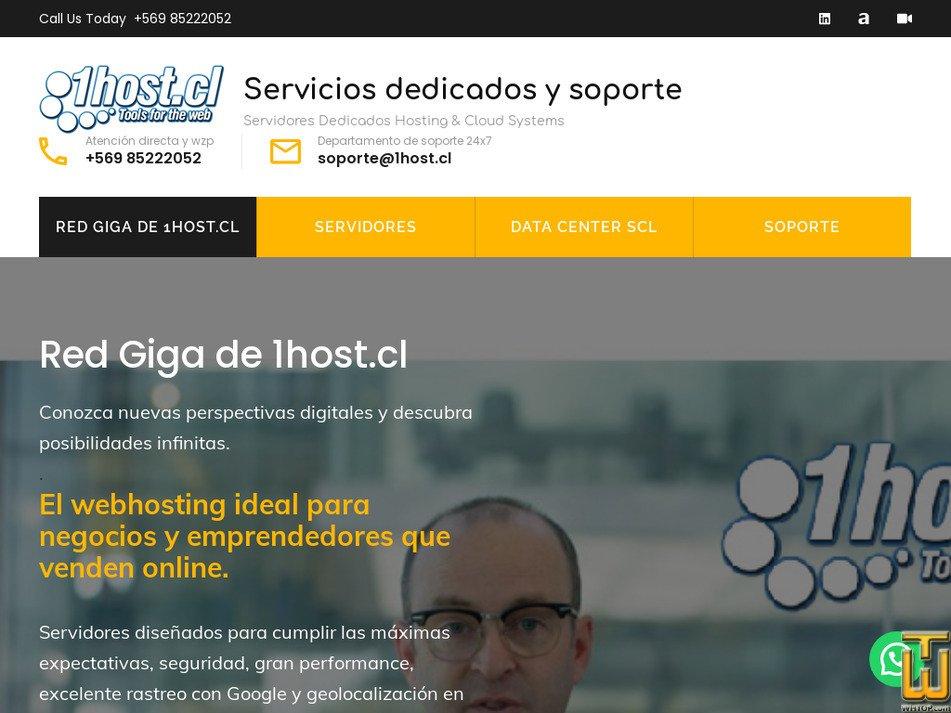 1host.cl Screenshot