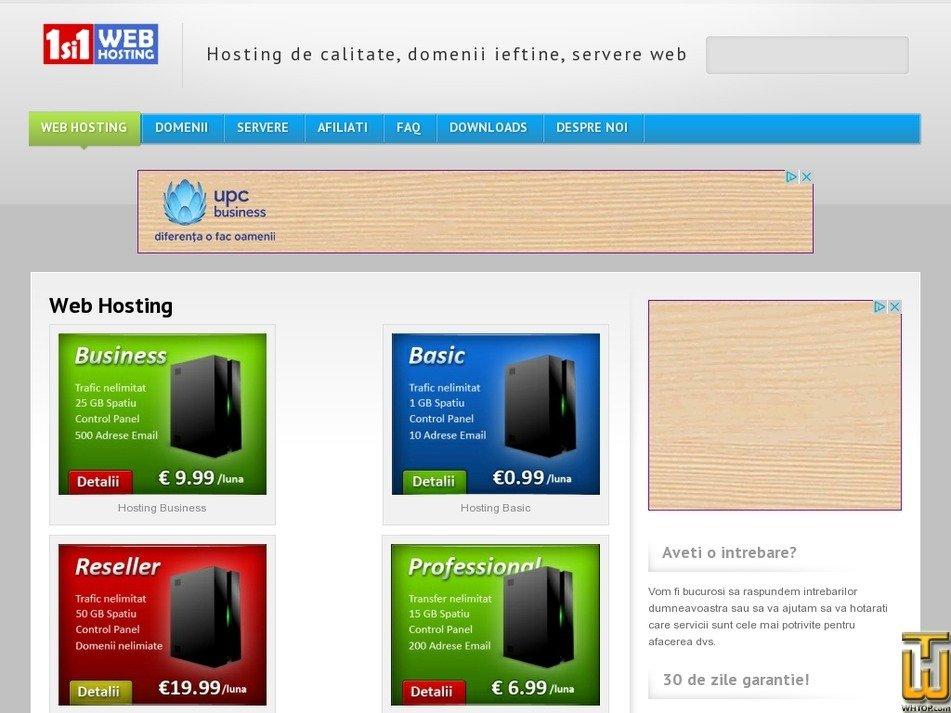 1si1.ro Screenshot
