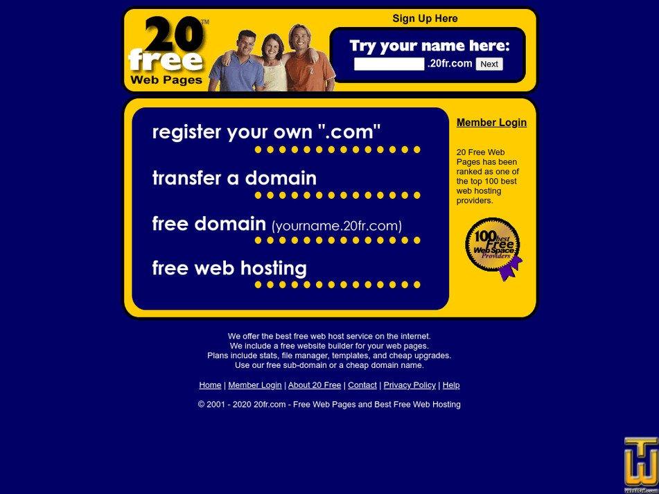 20fr.com Screenshot