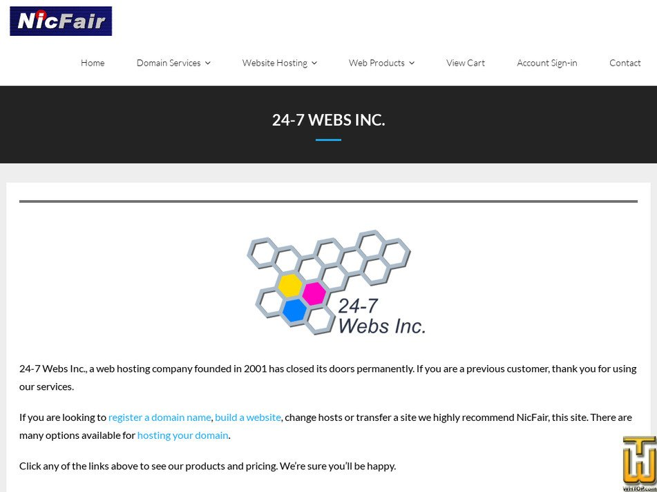 24-7webs.com Screenshot