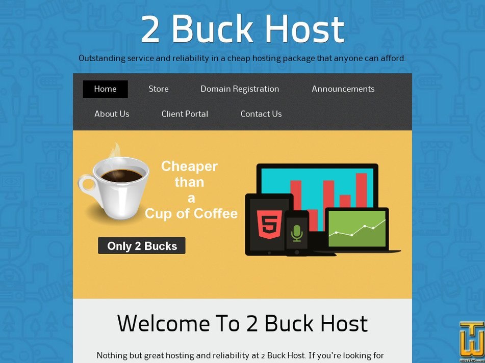 2buckhost.com Screenshot