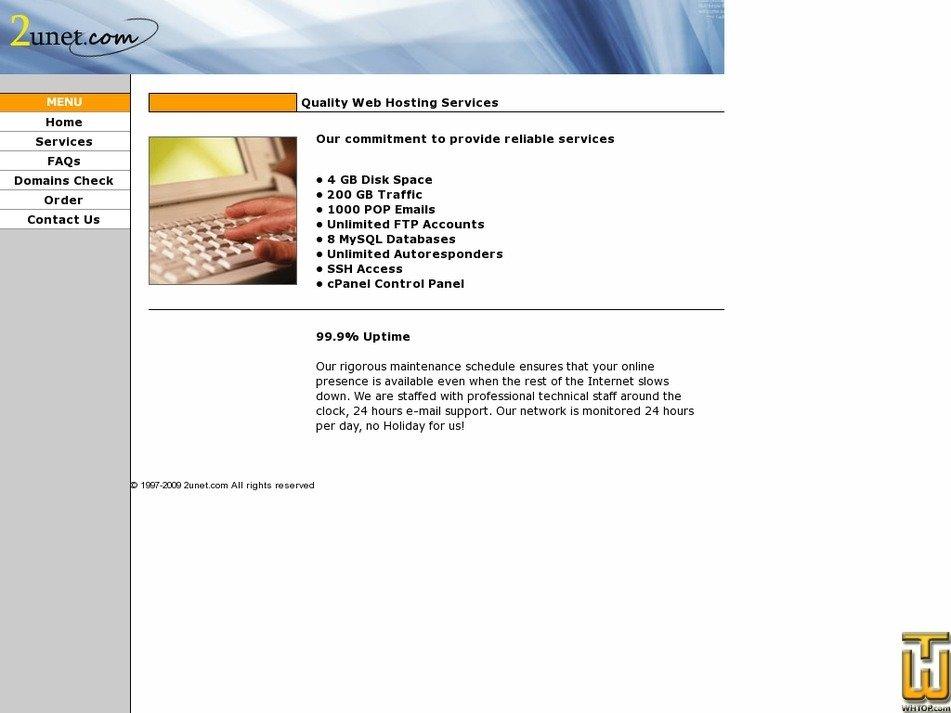 2unet.com Screenshot