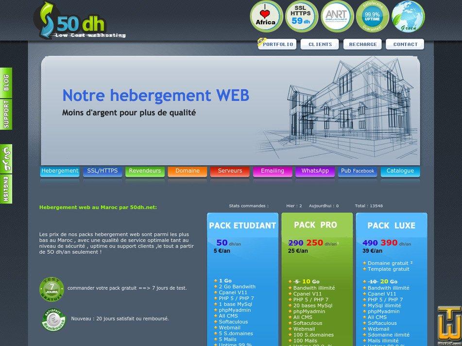 50dh.net Screenshot