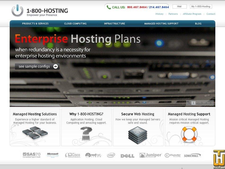 800hosting.com Screenshot