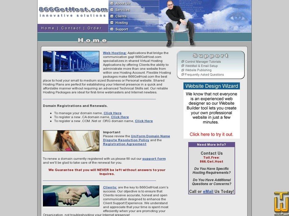 866gethost.com Screenshot