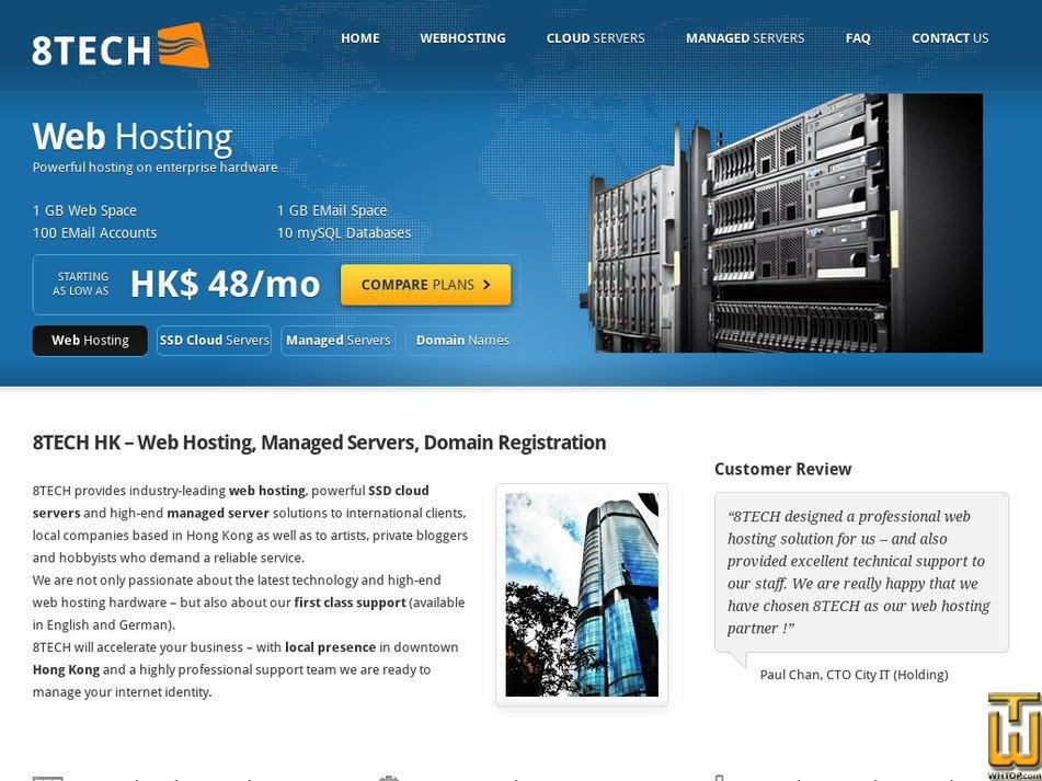 8tech.com.hk Screenshot