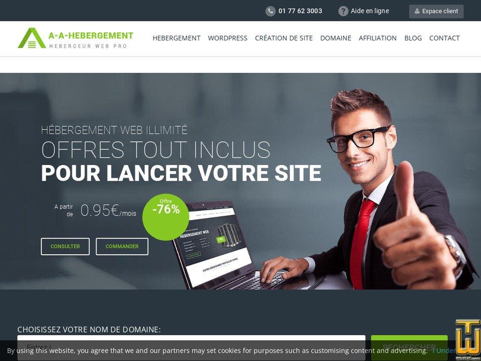 a-a-hebergement.com Screenshot