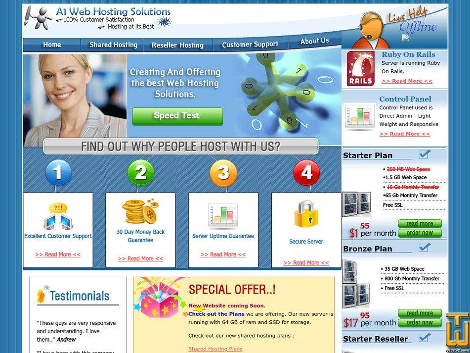 a1whs.com Screenshot
