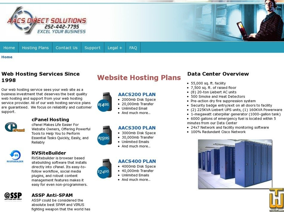 aacsdirect.com Screenshot