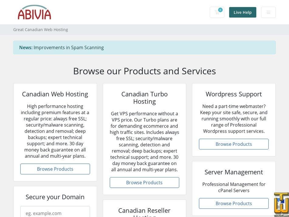 abivia.net screenshot