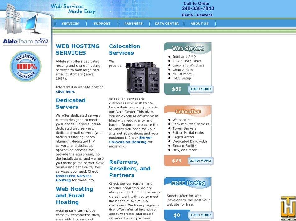 ableteam.com Screenshot