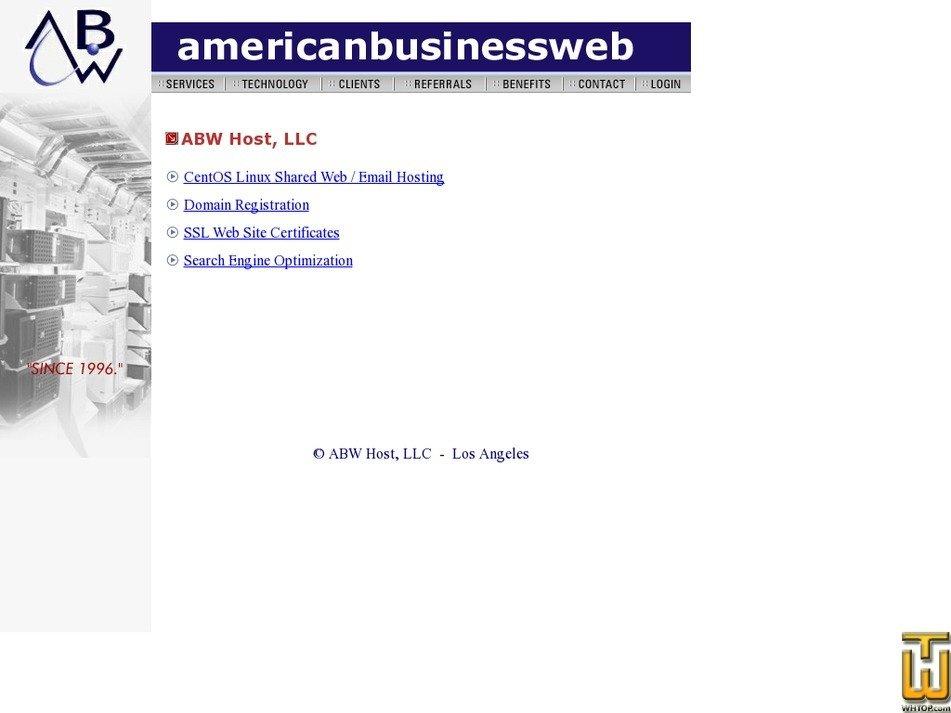 abwhost.net Screenshot
