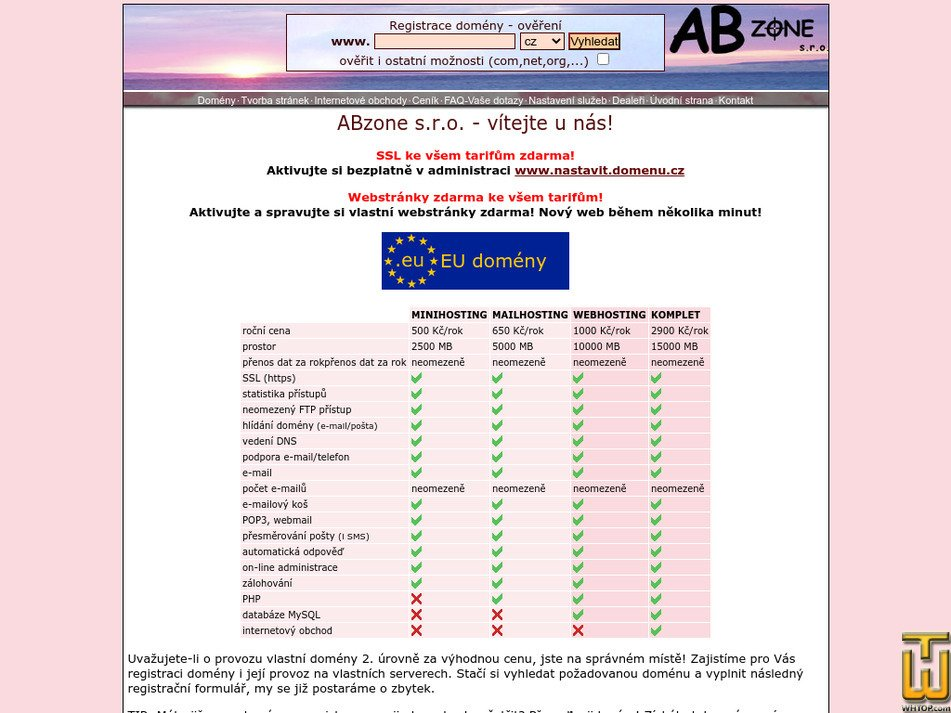 abzone.cz Screenshot
