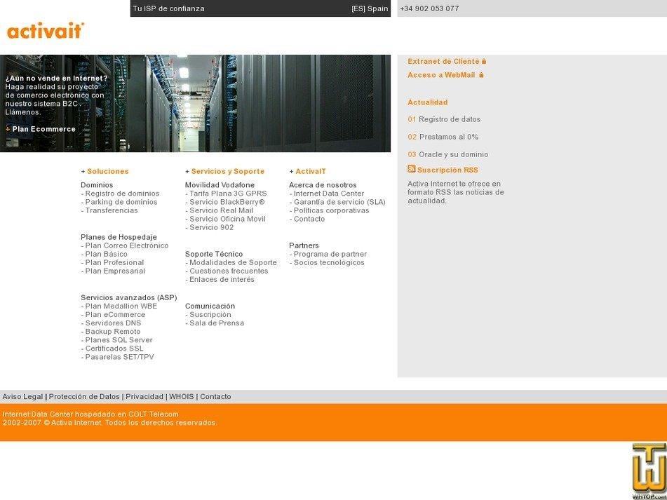 activait.com Screenshot