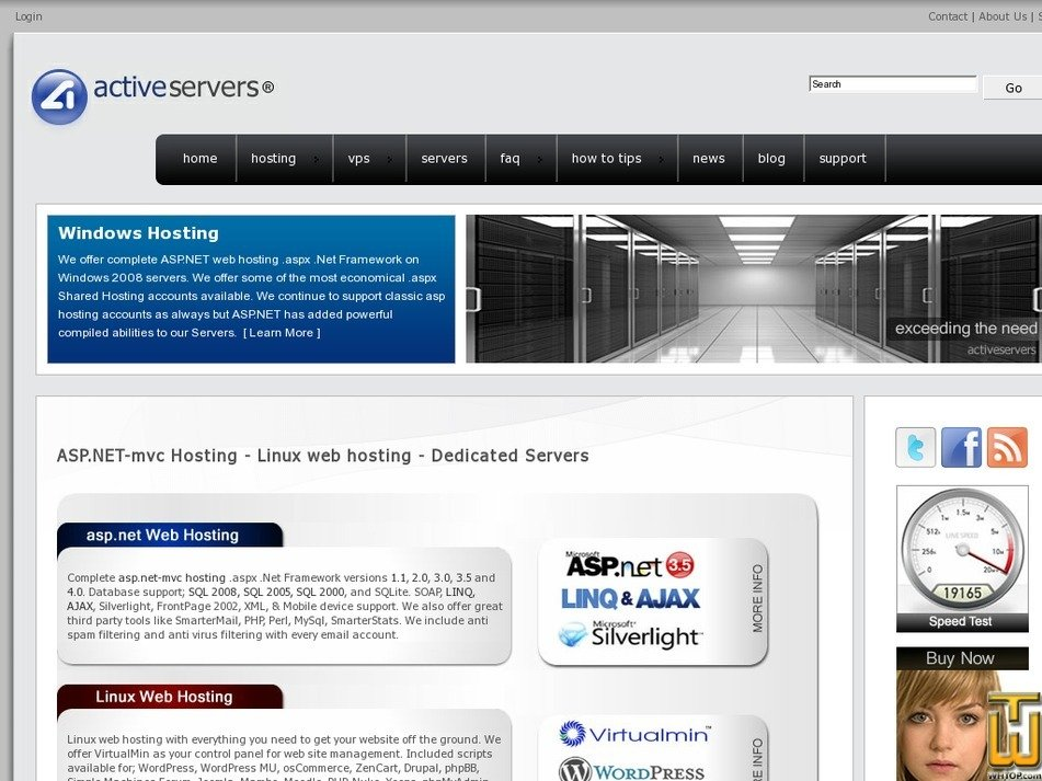 activeservers.com Screenshot