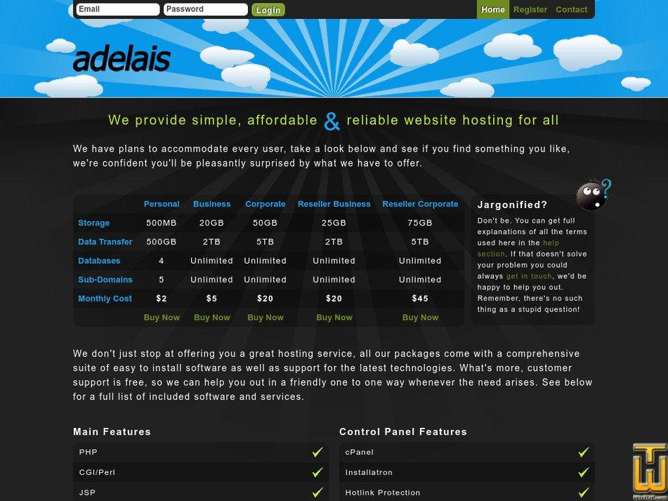 adelais.net Screenshot