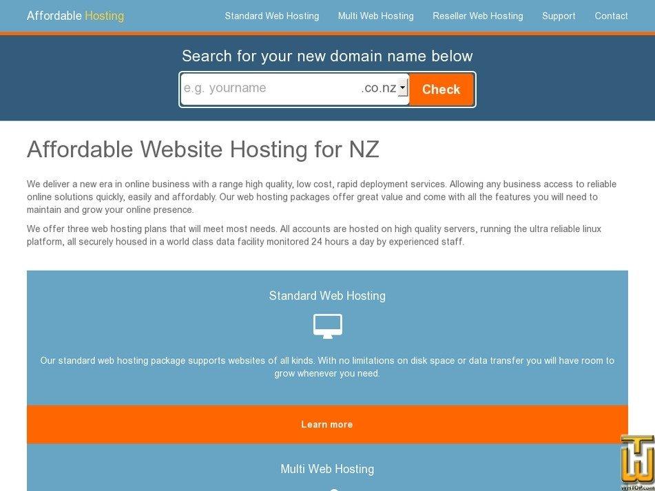 affordablehosting.co.nz Screenshot
