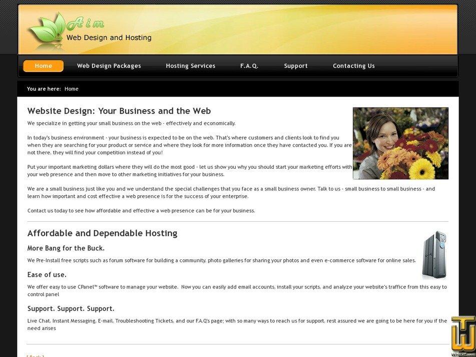aimisp.com Screenshot