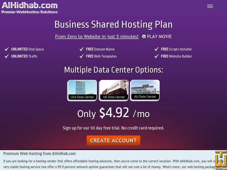 alhidhab.com Screenshot