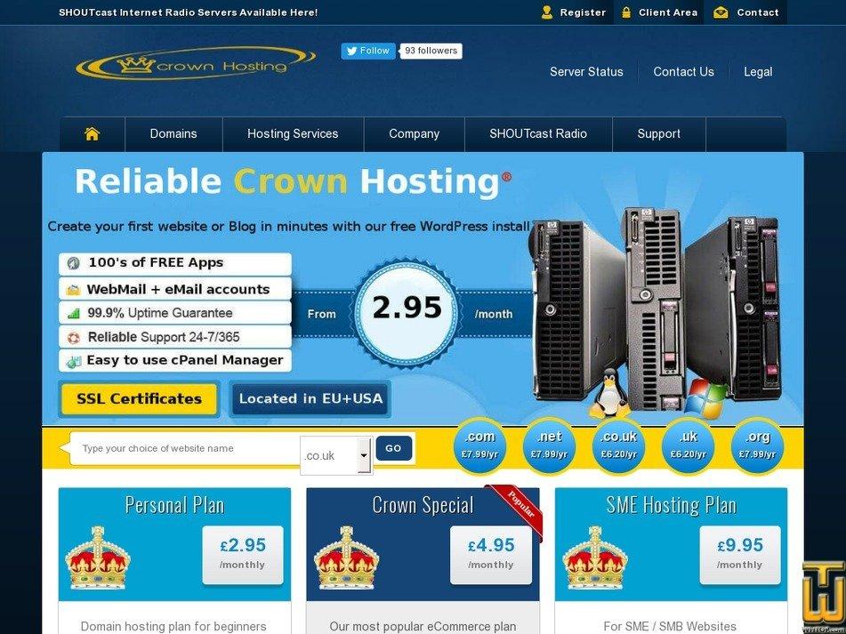 allhostone.co.uk Screenshot