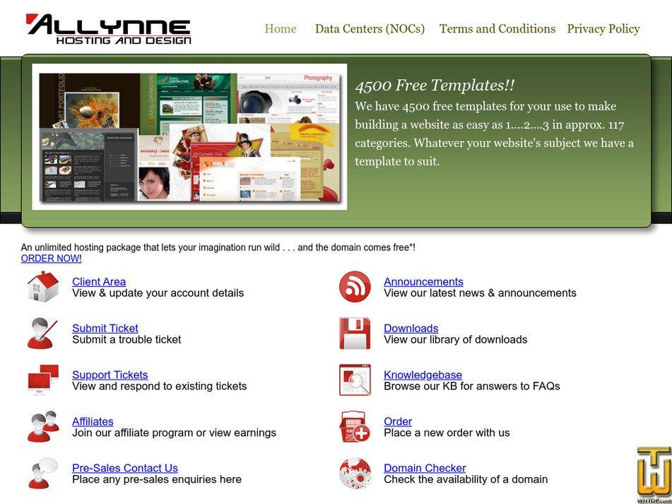 allynne.com Screenshot
